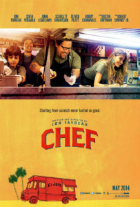 """Chef"" poster"