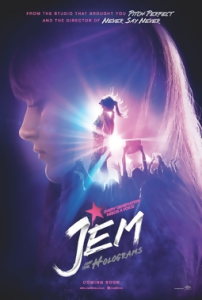 """Jem and the Holograms"" poster"