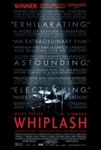 """""""Whiplash"""" poster"""